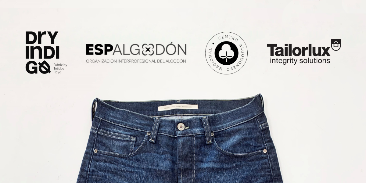 Tailorlux joins forces with Tejidos Royo to develop a traceable, and low carbon emission European cotton denim fabric with short transport distances.
